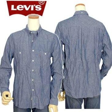 全商品10%OFFクーポン Levi'sリ-バイスシャンブレー ダンガリーシャツ