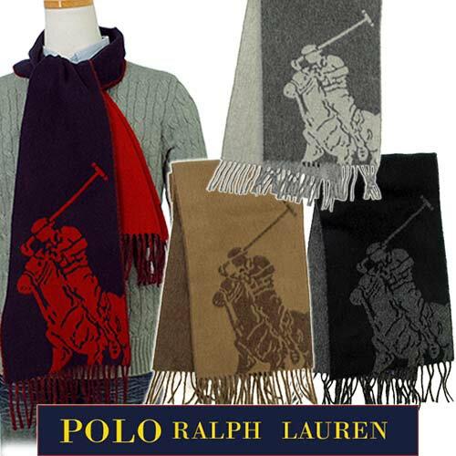 POLO by Ralph Laurenビッグポニー ジャガード織 マフラー送料無料6F05...