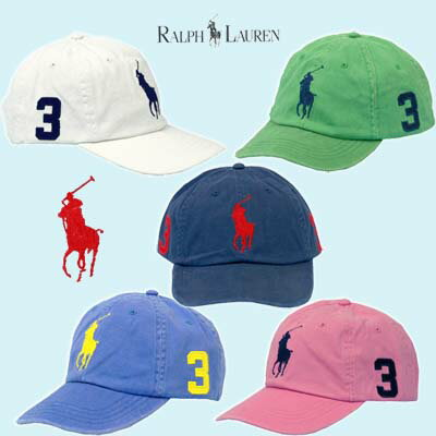 POLO by Ralph Lauren Men'sビッグポニー ベースボールキャップ #6551520,...