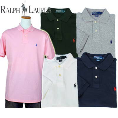 POLO by Ralph Lauren Men's半袖 インタ-ロック ポロシャツ #4400109、 #4403923 ...