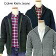 Calvin Klein Jeans カルバンクラインモールフルジップセーター