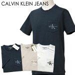 CKロゴ刺繍ポケット付Tシャツ-2020-1-5