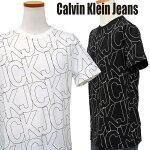 総柄CKロゴプリントTシャツ-2020-5-21