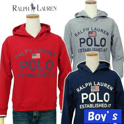 POLO by Ralph Lauren Boy'sUSA、POLOロゴパーカー