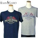【クリアランス】 POLO by Ralph Lauren ラルフローレンMen'sペナント フラッグ半袖Tシャツ【ラルフローレンMen's】