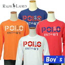 POLO by Ralph Lauren Boy'sプリント長袖Tシャツ【ラルフローレン ボーイズ】