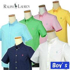 POLO by Ralph Lauren Boy's半袖 ポプリンシャツ【ラルフローレン ボーイズ】【父の日ギフト】