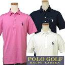 【全商品10%OFFクーポン】POLO Golf by Ralph Laurenミドルポニー半袖ポロシャツ【ラルフローレン】#781585623XL,大きいサイズ【送料無料】