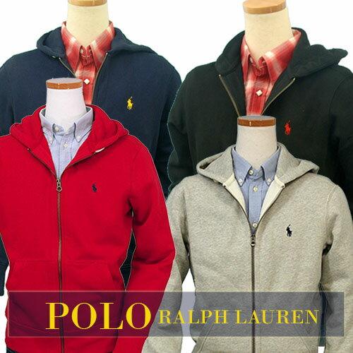 POLO by Ralph Lauren Men'sベーシック フルジップ パーカー特大寸あり #0455439XL,XXL,大きいサ...