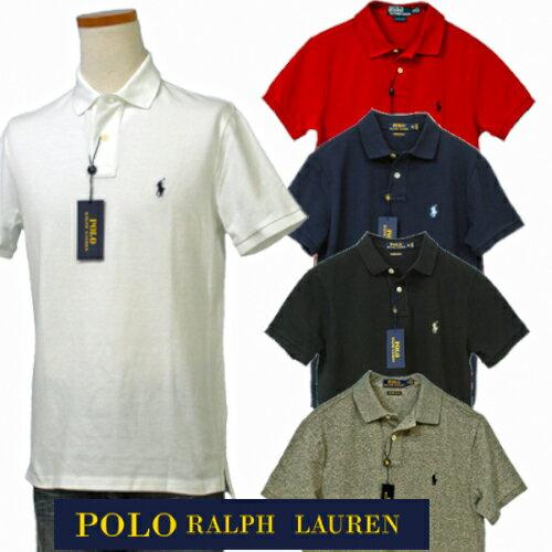 Polo by Ralph Laurenラルフローレン Men'sベ-シック 半袖 鹿の子 ポロ...