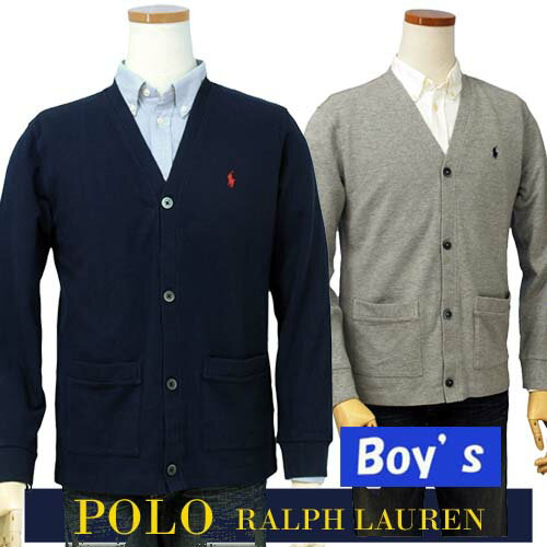 POLO by Ralph Lauren Boy's鹿の子 カーデガン