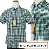 BURBERRYバーバリーMen'sマルチチェック サッカー地 半袖シャツBURBERRY BRIT英国 直輸入商品