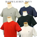 【全商品10%OFFクーポン】POLO by Ralph Laurenラルフローレン Boy's定番半袖 ポイントTシャツ【ベーシックカラー】ラルフローレンボーイズ
