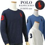 ビッグポニー刺繍長袖Tシャツ-2020-1-15