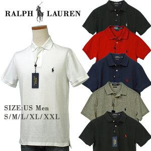 Polo by Ralph Laurenラルフローレン Men'sベ-シック 半袖 鹿の子 ポロシャツ カスタム スリム送料無料,父の日ギフト プレゼント#710666998,POLOラルフローレン ポロシャツ