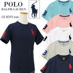 ビッグポニー刺繍半袖Tシャツ-2020-4-3