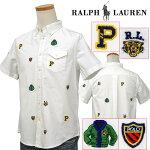 ポケット付きマルチ刺繍半袖シャツ-2020-5-27