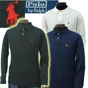 POLO by Ralph Lauren Boy'sラルフローレン ベーシック 長袖 鹿の子ポロシャツ【2009-Spring/Ne...
