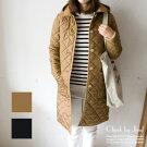 TraditionalWeatherwear/トラディショナルウェザーウェアキルティングコートWAVERLYHOODLONG/ウェーバリーフードロング