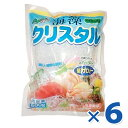 【送料無料】 海藻クリスタル 海藻麺 500g×6個セット 国産 低カロリー 食物繊維 ...