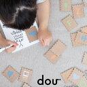 dou?【木のおもちゃ】 ABC stamp 木のおもちゃ 木製 アルファベット 男の子 女の子 プレゼント ギフト パズル ベビー 赤ちゃん 出産祝い ベビートイ 英語 バッグ付き 子供 キッズ