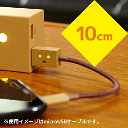 cheeroDANBOARDUSBCablewithMicroUSB&Lightning(10cm)[Apple社のMFi認証取得済]目が光る充電/データ転送ケーブル/iPhone6s/iPhone6Plus/各種iPhone/iPad/iPodnano/iPodtouch/Android/Xperia/Galaxy/各種スマホタブレット対応