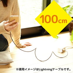 cheeroDANBOARDUSBCablewithMicroUSB&Lightning(100cm)[Apple社のMFi認証取得済]目が光る充電/データ転送ケーブル/iPhone6s/iPhone6Plus/各種iPhone/iPad/iPodnano/iPodtouch/Android/Xperia/Galaxy/各種スマホタブレット対応