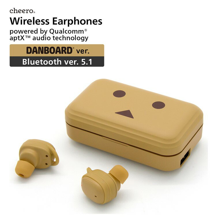 オーディオ, ヘッドホン・イヤホン  iPhone Android cheero Danboard Wireless Earphones Bluetooth 5.1 IPX5
