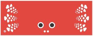 【赤色】「金魚ちゃん手ぬぐい」 【ネコポス便8枚まで発送可能】金魚 手拭い【RCP】