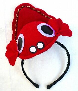 【興味深々】金魚ちゃんカチューシャ 巾着袋入り金魚ちゃん きゃっぷヘッドドレス(カチューシャタイプ)【RCP】