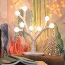 北欧風 テーブルランプ 送料無料 8LED電球付き DIY クリスマスツリー おしゃれ ベッドサイド テーブルライト 卓上ライト 電気スタンド ナイトライト シンプル インテリア 夜間ライト 子供安全素材 授乳ライト リビング 寝室 床置き プレゼント あす楽