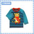 ジンボリー正規品(Gymboree-2)かっこいいラグラン袖のトラ柄長袖トップス Tシャツ ロンT