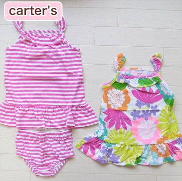 カーターズ 正規品 Carter's -3)サンドレス2枚とパンツのセット(6M 12M 1歳 1才 18M 2歳 2才 24M 2T 3歳 3才 3T 4歳 4才 4T 5歳 5才 5T 女の子用)(80cm 90cm 95cm 100cm 110cm 216a109)在庫処分