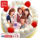 あす楽 写真ケーキ 送料無料 バースデーケーキ 4号12cm 2〜3名用 (送料無料 ギフト