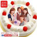 あす楽 写真ケーキ 送料無料 バースデーケーキ 6号18cm 7〜10名用 (送料無料 ギフ
