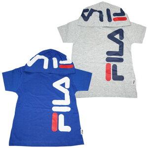 2020年 夏物 フィラ FILA 天竺 フード付き 半袖Tシャツ