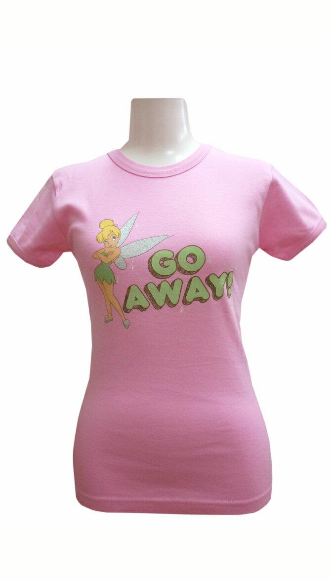 ティンカーベルTシャツ ピンク