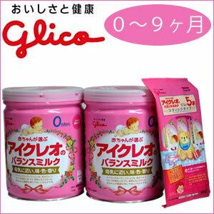 Glycoaicleo 平衡牛奶罐 800 g x 2 + 堅持五個月奶粉牛奶平衡嬰兒奶粉