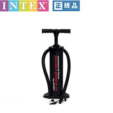 エア-ポンプ インテックスポンプ ダブルアクションポンプ 空気入れ