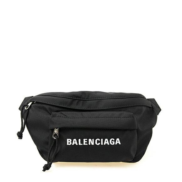 レディースバッグ, ボディバッグ・ウエストポーチ  BALENCIAGA WHEEL BELTPACK S 569978 HPG1X 1090 BLACKNAVYBLUE