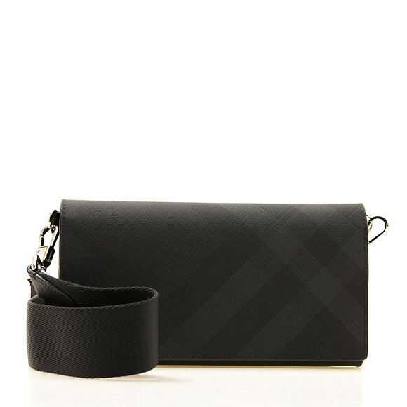 『London Check Wallet with Detachable Strap(80271651)』