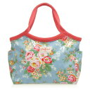 【30%OFF】キャスキッドソン BUCKET BAG CANDY FLOWERS/BLUE バケットバッグ CATH KIDSTON