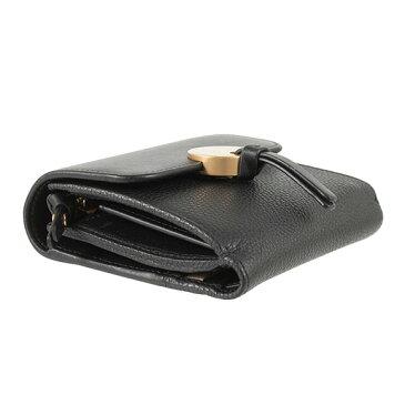 クロエ CHLOE 財布 レディース 三つ折り財布 ミニ財布 INDY SQUARE WALLET [インディー] ブラック 黒 CHC16UP811 / 3P0811 H8J NR001 BLACK