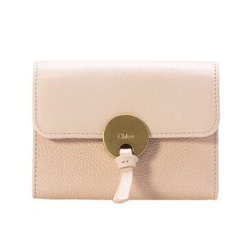 クロエ CHLOE ミニ財布 レディース 三つ折り財布 INDY COMPACT WALLET [インディー] セメントピンク CHC17SP853 / 3P0853 H8J 6J5 CEMENT PINK