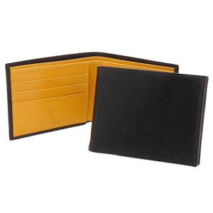 エッティンガー ETTINGER 財布 メンズ 二つ折り財布 (小銭入れ付) ブラック ブライドルレザー BILLFOLD WITH 3 C/C & COIN PURSE BH141JR BLACK BRIDLE HIDE COLLECTION