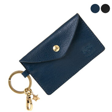 イルビゾンテ IL BISONTE 財布 キーリング付き カードケース/コインケース KEY RING C0928 P [全2色]【2021SS】
