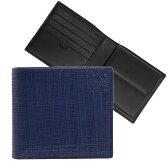 ロエベ LOEWE 財布 メンズ二つ折り財布 LINEN BIFOLD/COIN WALLET [リネン ビルフォールド/コインウォレット] ネイビーブルー 101 88 501 5110 NAVY BLUE