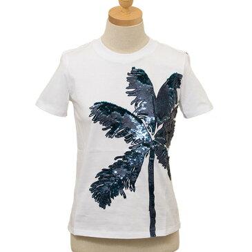 マックスマーラ MAX MARA SPORTMAX CODE レディース Tシャツ ホワイト×ネイビー GIULIVA 79710194 008 WHITE