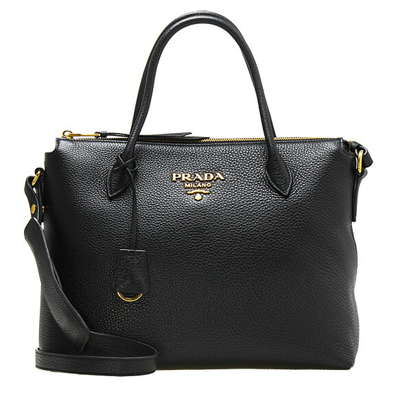 Prada PRADA Bag Ladies 2WAY Hand/Shoulder Bag Black 1BA157 V-NOX 2BBE F0002 NERO [A4]
