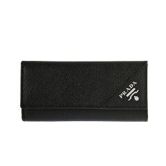 プラダ PRADA メンズ キーケース ブラック PORTACHIAVI GANCI 2M0223 QME F0002 NERO